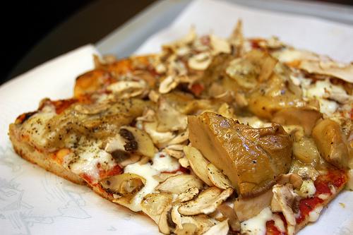 пицца с белыми грибами рецепт с фото